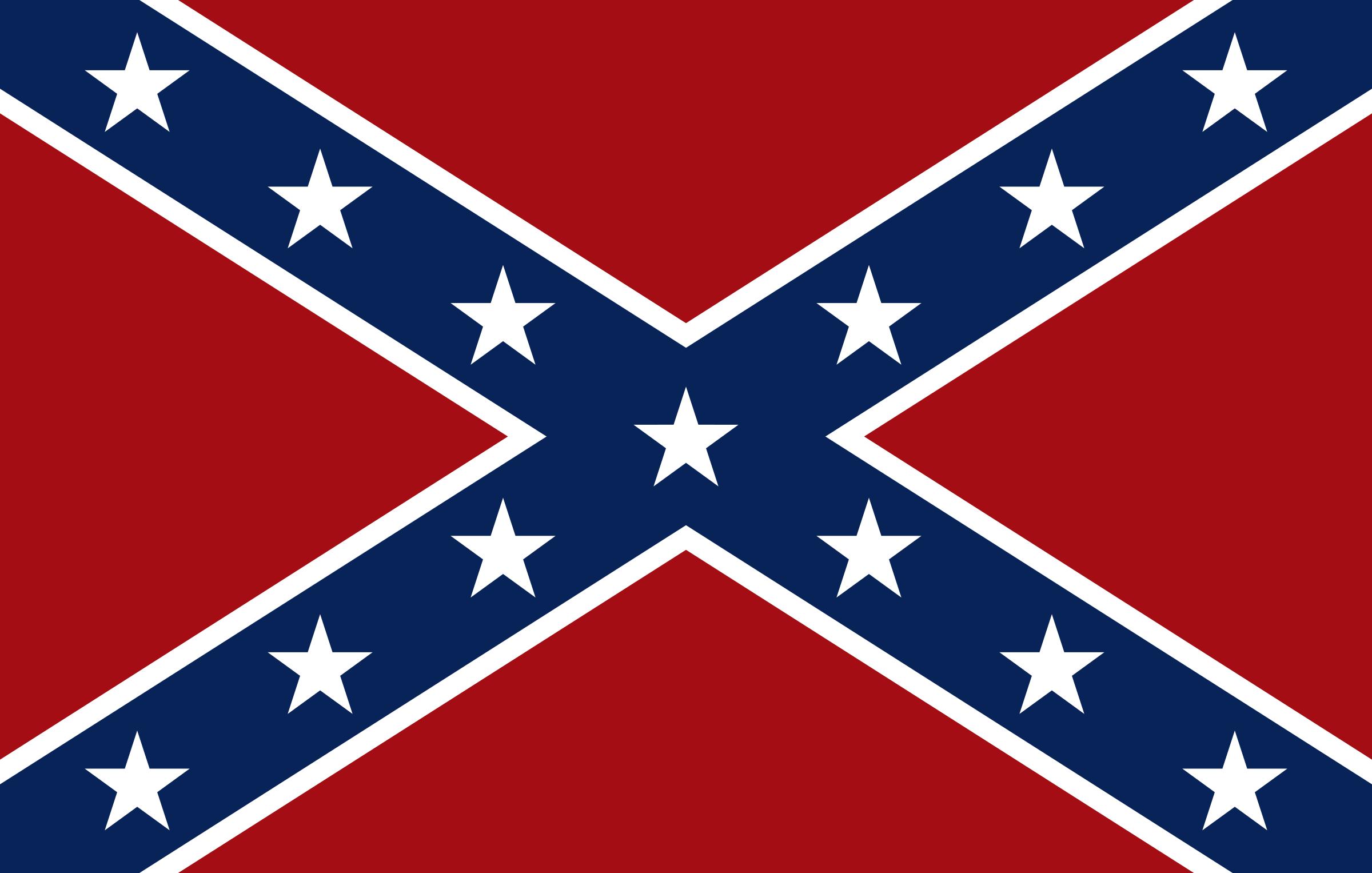 ... Confederate Flag Clip Art - clipartall ...