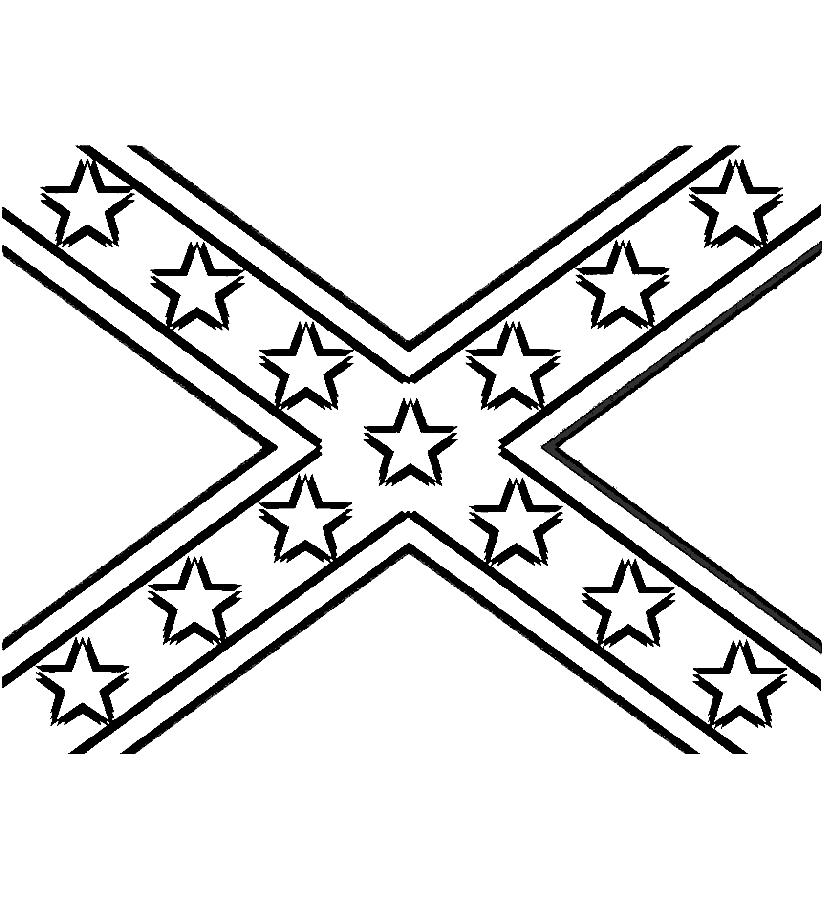 Confederate Flag Clipart