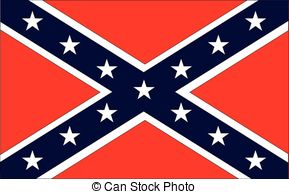... Confederate Flag - The flag of the confederates during the.
