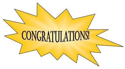 Congratulations clip art .