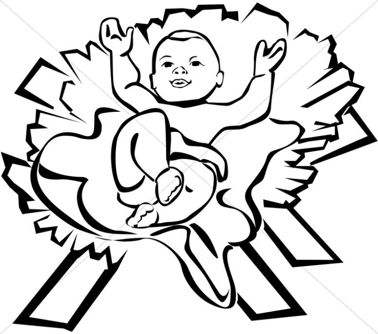 Content Baby Jesus