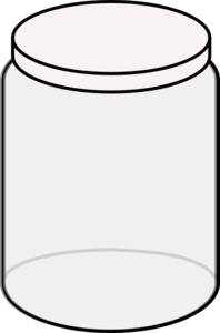 cookie jar clipart black and white