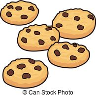 . hdclipartall.com vector set of chocolate chip cookies isolated on white. hdclipartall.com hdclipartall.com