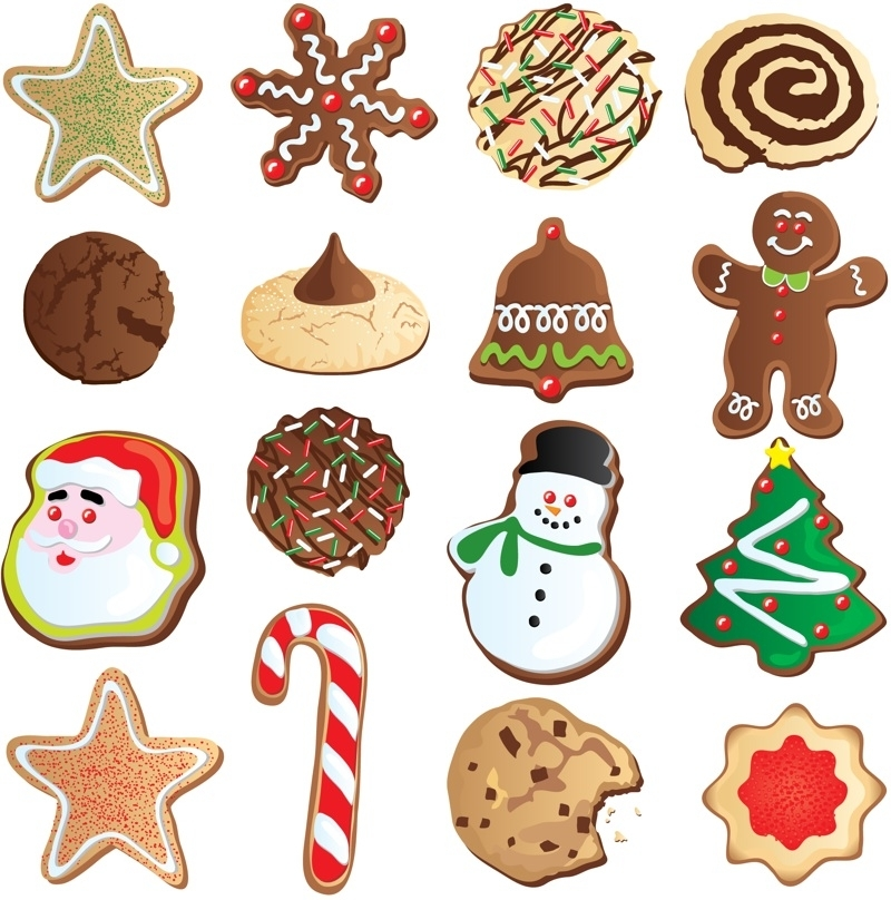 9 Christmas Cookies Clipart Preview Cookie Free Clipa Hdclipartall