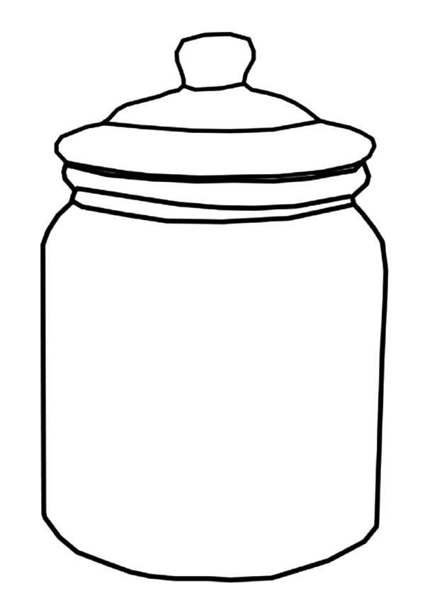 600x855 Drawn jar cookie jar