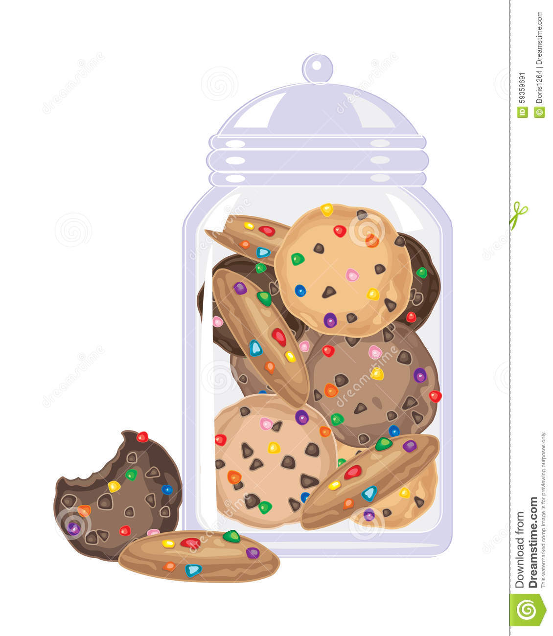 Cookie clipart jar candy #5