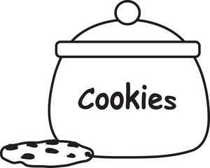 Cookie Jar Clipart #11071