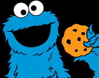 Cookie Monster Digital File - Cookie Monster Clipart