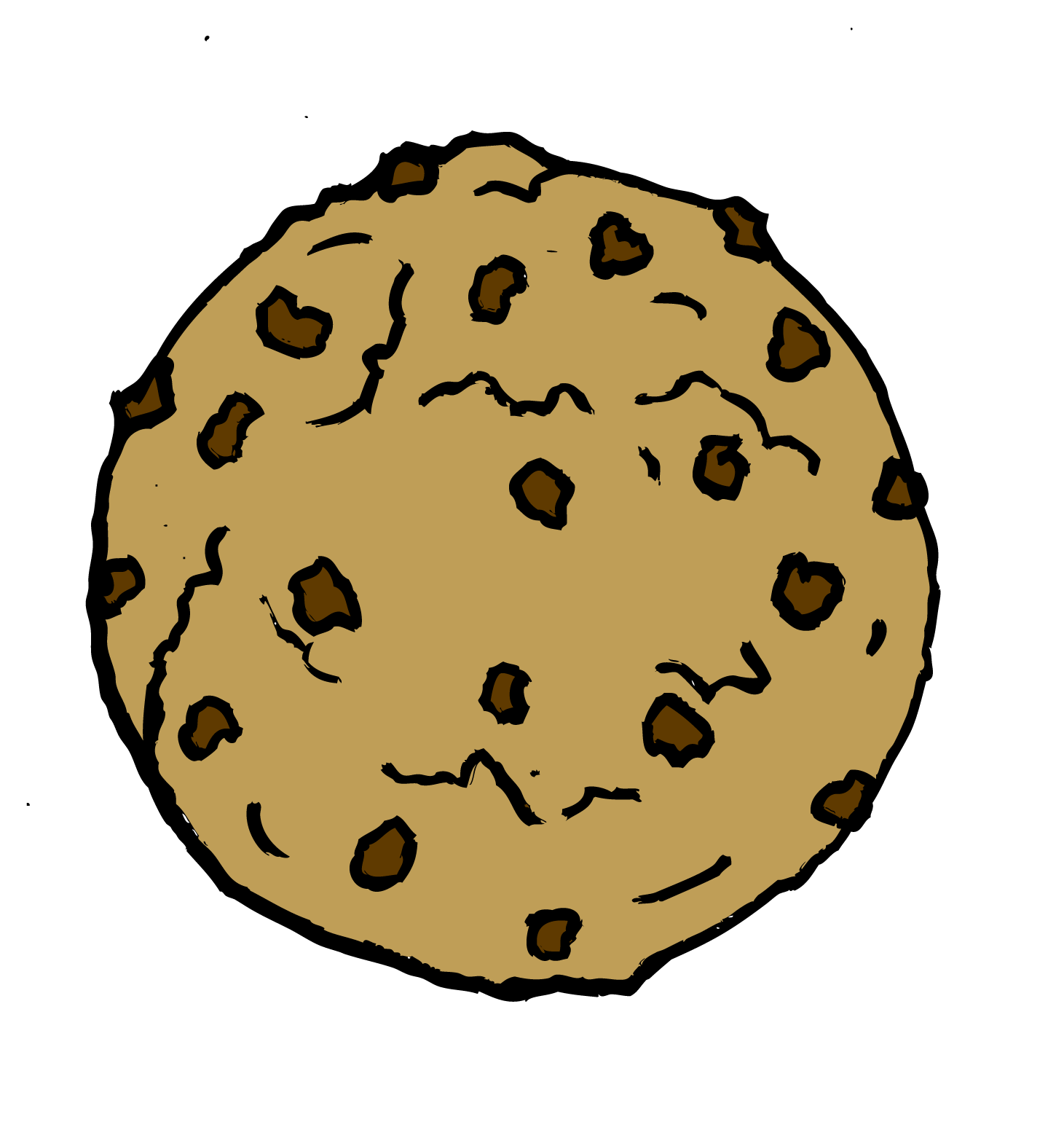 Vector clipart cookie #7