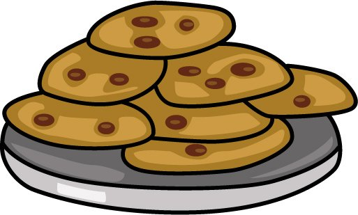 Cookie Clip Art Free Black And White