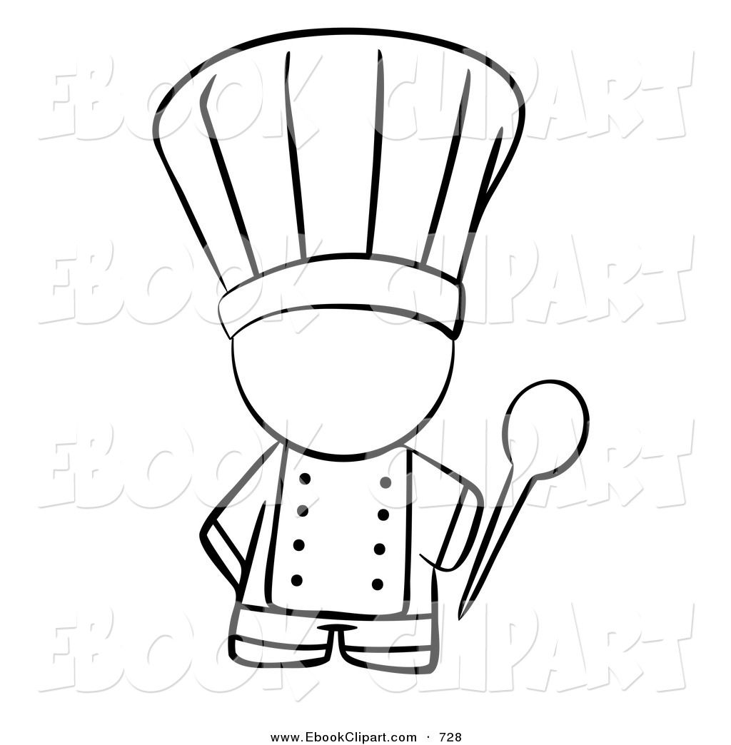 Images For u003e Cooking Clipart Black And White