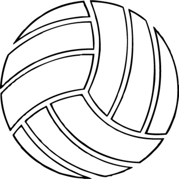 Cool volleyball clipart free clipart image
