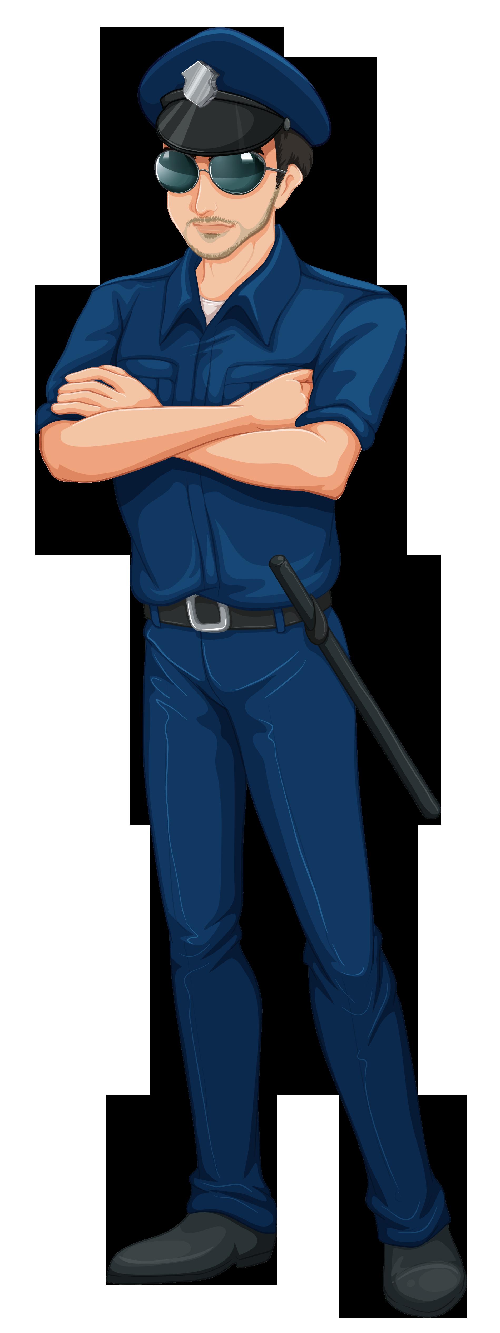 Cop Policeman PNG Clip Art Image