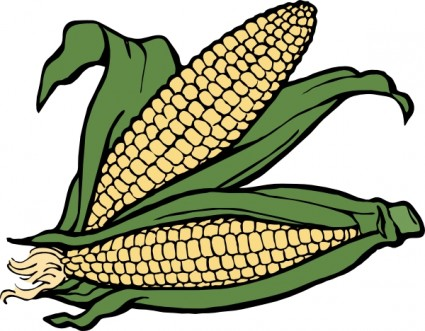 Corn clip art free vector in open office drawing svg svg