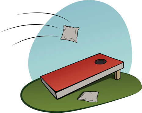 Corn Hole Clipart