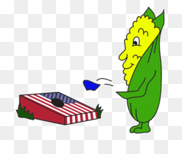 Cornhole Cartoon Clip art - badminton tournament