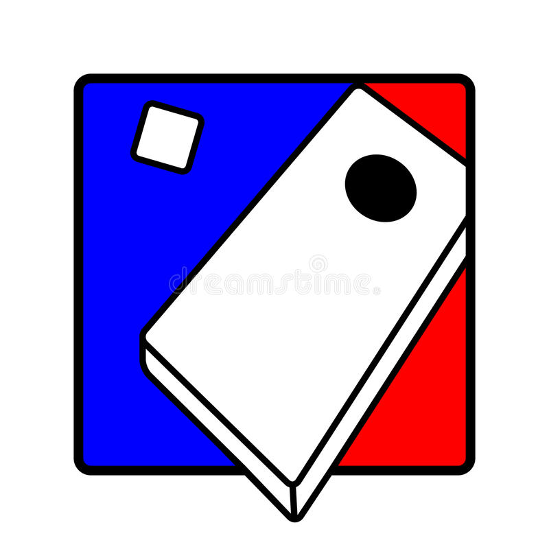 Corn Hole Clipart Corn Hole Icon Symbol Stock Vector. Illustration Of Tossing -  49803066