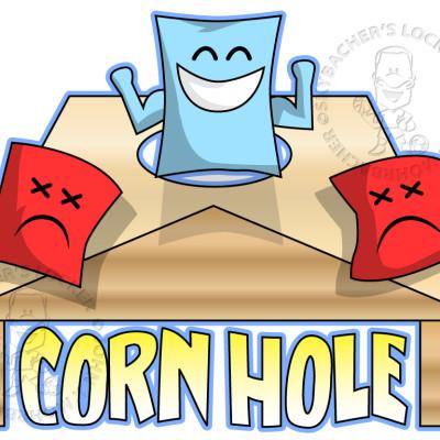 Corn Hole Logo 2 Royalty Free Skybacher\u0026#39;s Locker