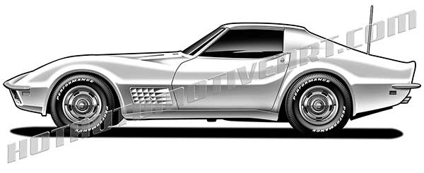 Alternative Views: - Corvette Clipart