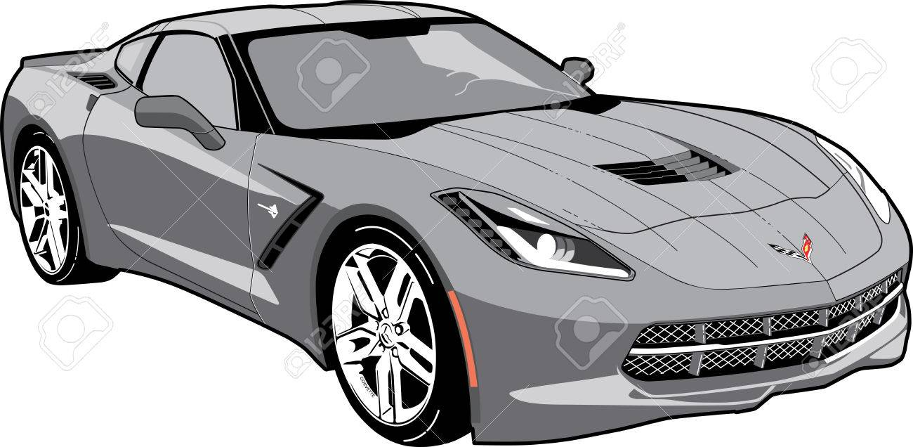 Clipart Redoubtable Corvette Clipart Corvette Clipart Clipart Fascinating