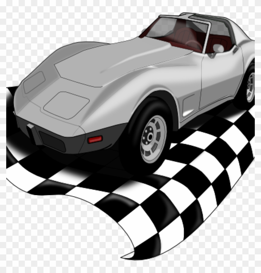Corvette Clip Art Checker Corvette Clip Art At Clker - Der Glückliche  Rücktag Der Mutter Karte