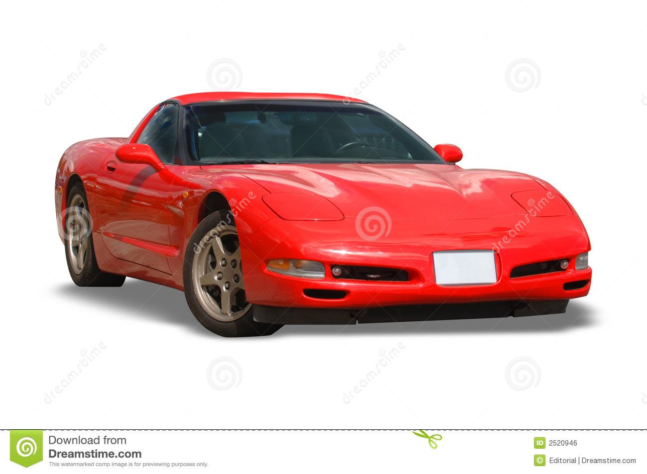Corvette Clipart silhouette
