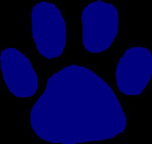 Cougar paw print clip art clipart 4