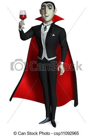 Count Dracula Stock Illustrationby ...