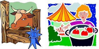 Country Fair Food Clipart