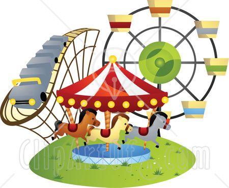 County Fair Clip Art Borders County fair cl | Funfair | Pinterest | Ferris wheels, Wheels and Search