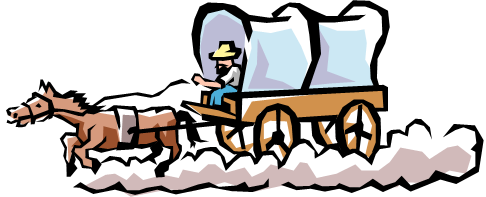 ... Covered Wagon Clipart - clipartall ...