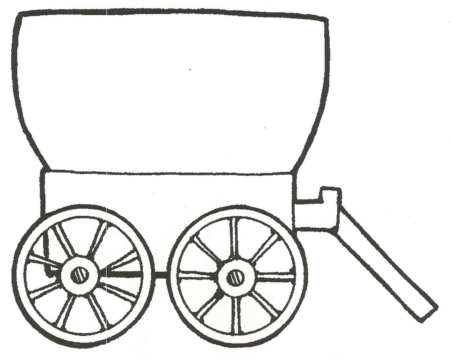 Covered Wagon Clipart; Wagon Clip Art Clipart - Free to use Clip Art Resource ...