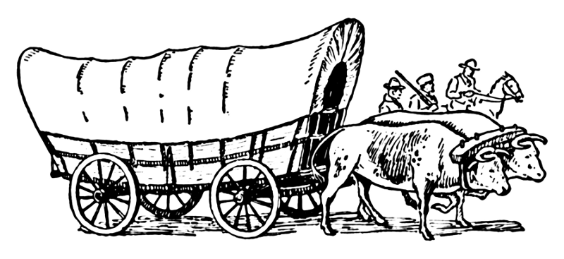Covered Wagon World History .