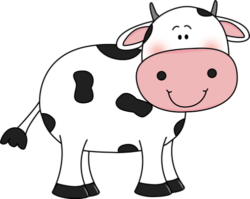 Cow Clipart Black And White Clipart Free Clipart Image