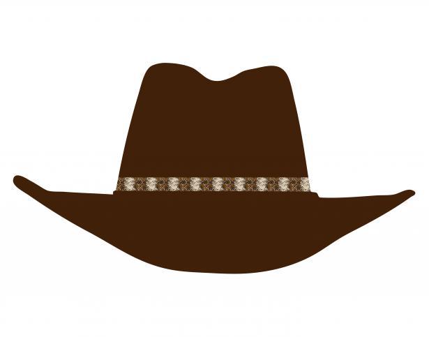 Cowboy hat 2 clipart clip art