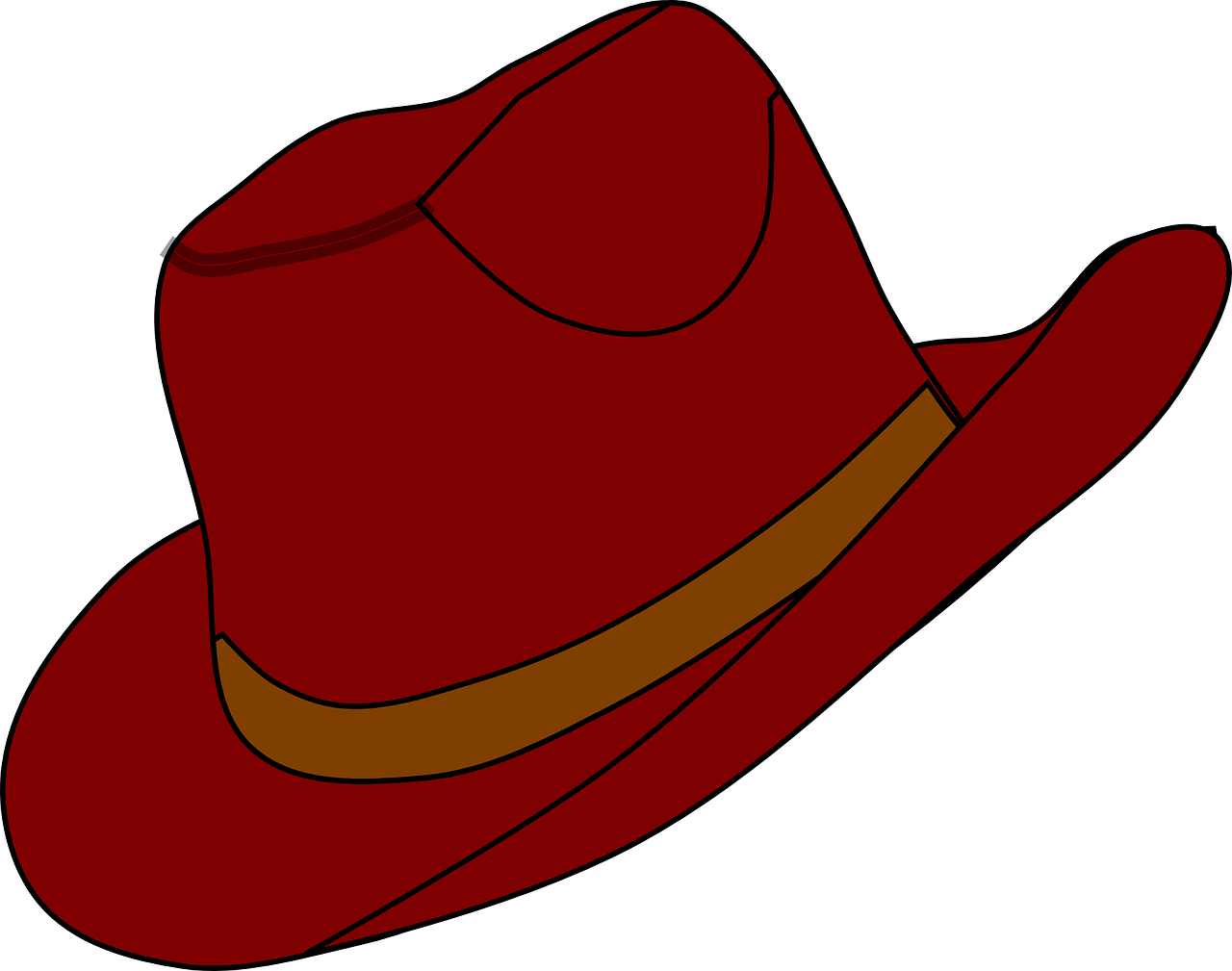 Cowboy hat clipart free danaspaj top