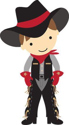 Cowboy Kid Clip-art. COWBOY E COWGIRL