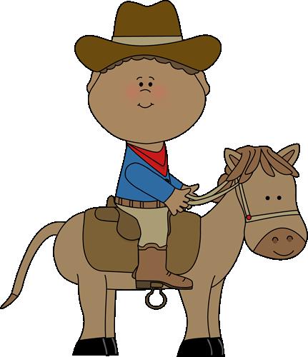 Cowboy on a Horse