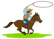Cowgirl Wearing Boots Dancing Clipart Size: 100 Kb