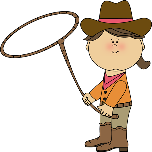 Cowgirl with a Lasso