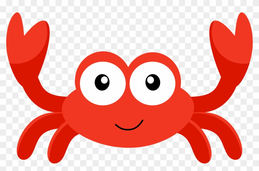 Baby Clipart Little Mermaid - Crab Clipart #48634