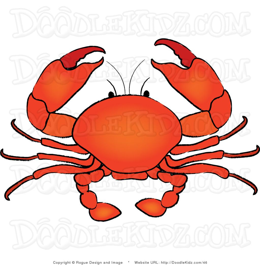 Crab Clip Art | crab-clipart-crab -clip-art-clip-art-illustration-of-a-seafood-crab-by .