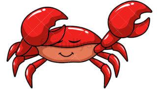 Dabbing Crab