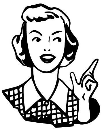 Craftster Photo Hosting Fifties Woman Pointing Powered By