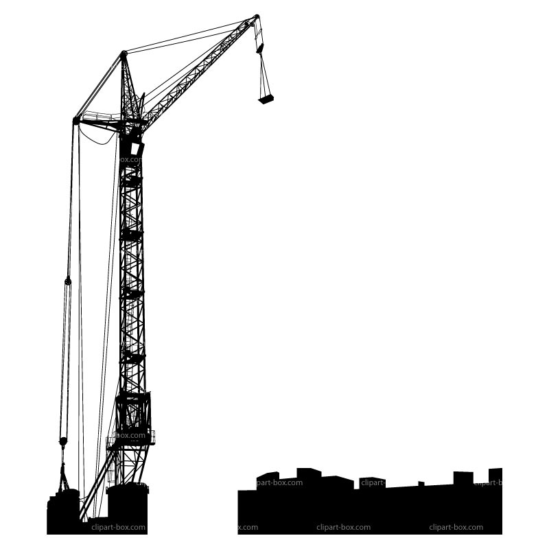 CLIPART CRANE BUILDING