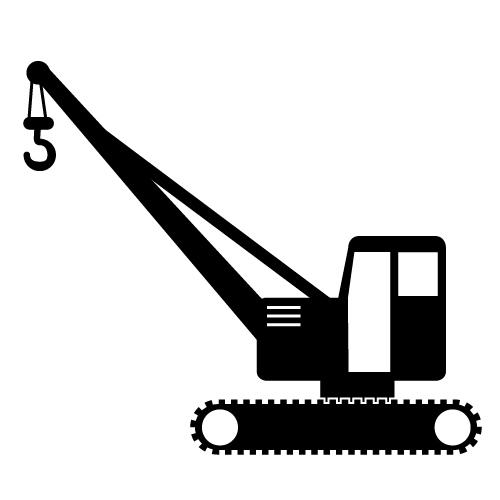 Crane Clip Art #18546
