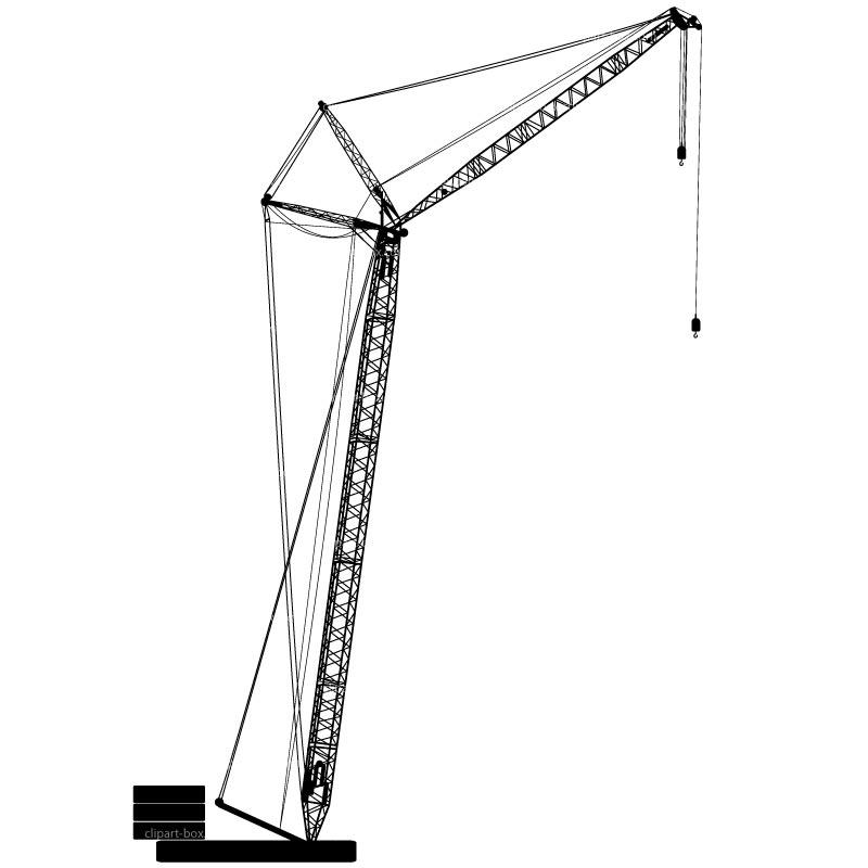 Crane Clip Art #18549