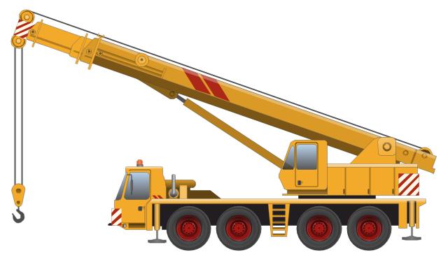 Crane Clip Art #18551