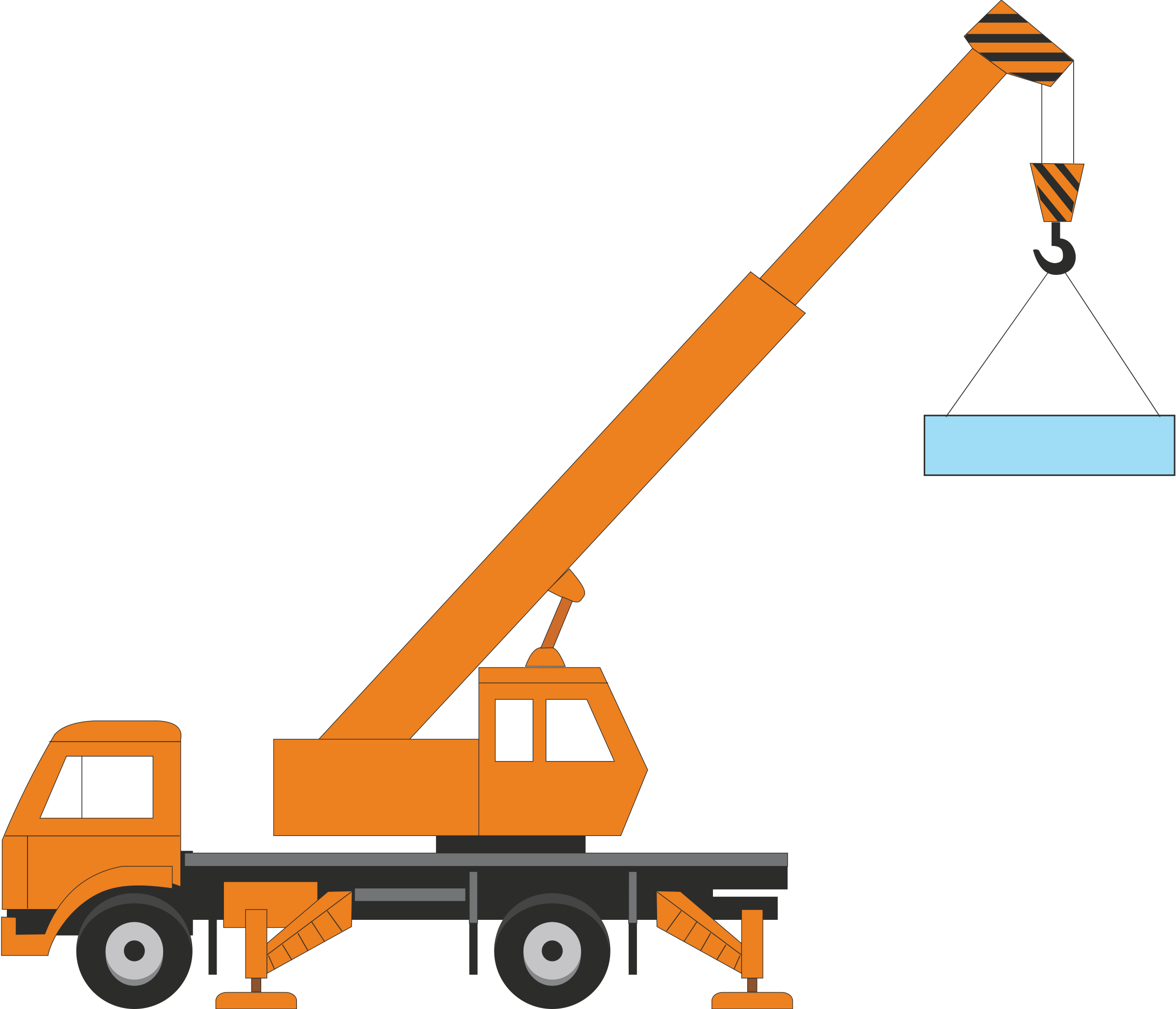 Crane Clipart #1