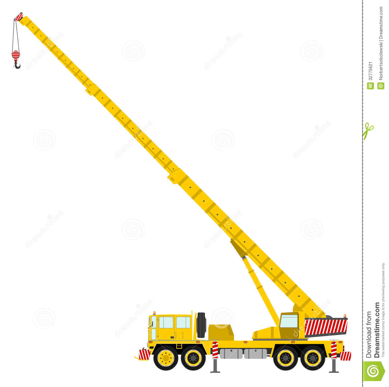 Crane Clipart 4